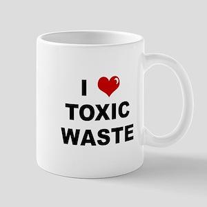 I Love Toxic Waste Mug