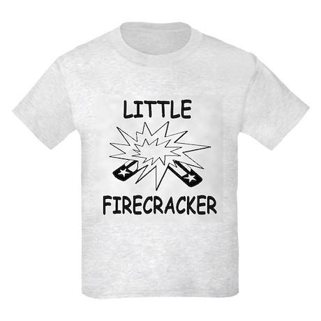 Funny Little Firecracker - Kids Light T-Shirt
