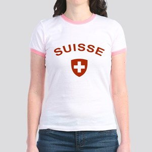 Switzerland suisse Jr. Ringer T-Shirt