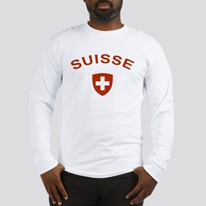 Switzerland suisse Long Sleeve T-Shirt
