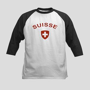 Switzerland suisse Kids Baseball Jersey