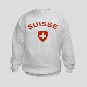 Switzerland suisse Kids Sweatshirt