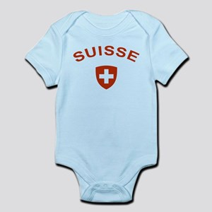 Switzerland suisse Infant Bodysuit