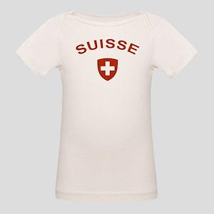 Switzerland suisse Organic Baby T-Shirt