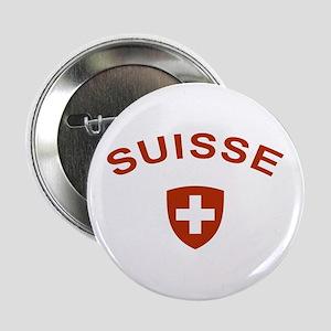 """Switzerland suisse 2.25"""" Button"""