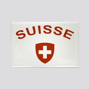 Switzerland suisse Rectangle Magnet