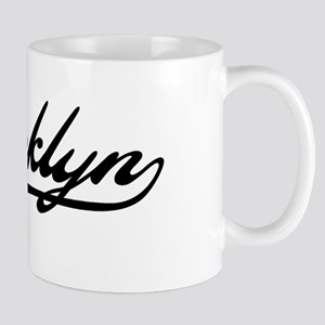 Brooklyn Baseball Logo Mug