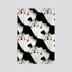 Poker Dreams Rectangle Magnet