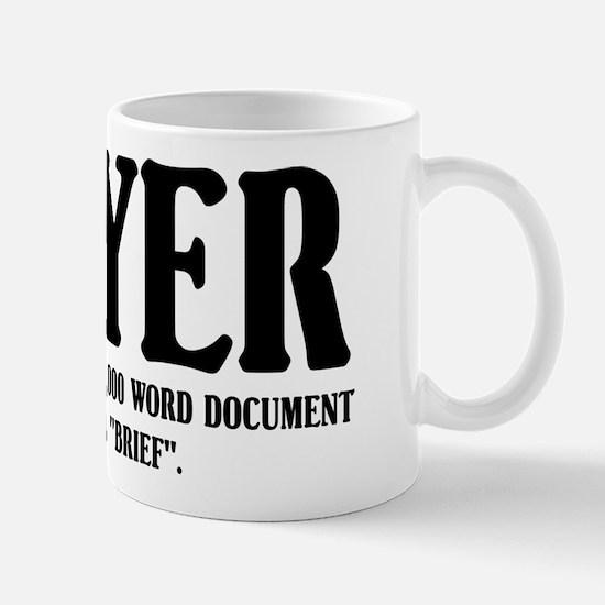 Funny Lawyer Mug