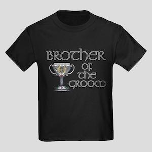 Celtic Brother Groom Kids Dark T-Shirt