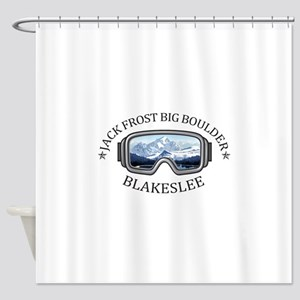 Jack Frost Big Boulder - Blakesle Shower Curtain