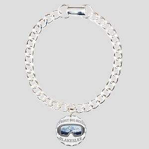 Jack Frost Big Boulder Charm Bracelet, One Charm