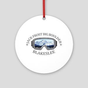 Jack Frost Big Boulder - Blakesle Round Ornament