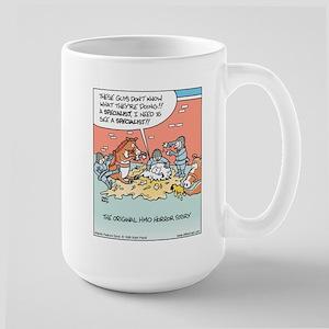 HMO Horror Story Large Mug