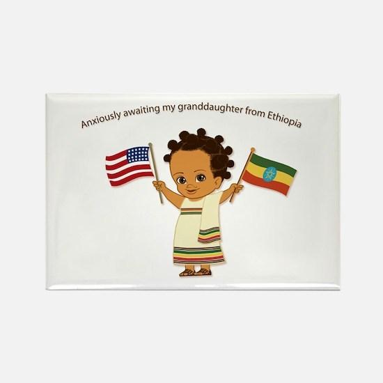 Awaiting Granddaughter Ethiopia Adoption Magnet