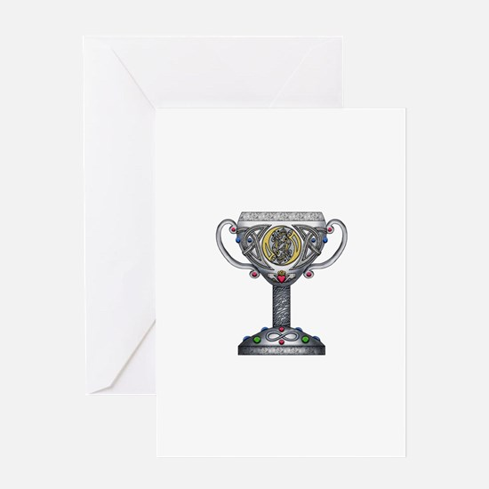 Celtic Chalice Greeting Card