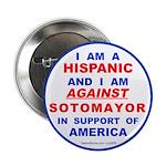 """Hispanics Against Soto 2.25"""" Button (10 pk)"""