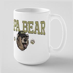 New Papa Bear Dad Large Mug