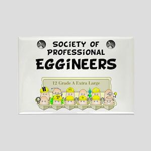 Eggineer Society Rectangle Magnet