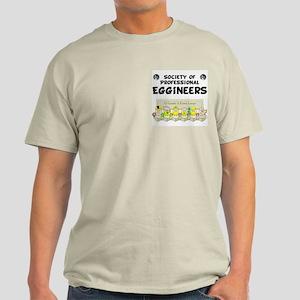 Eggineer Society Pocket Image Light T-Shirt