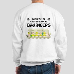 Eggineer Society (back image) Sweatshirt