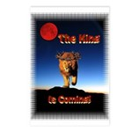 The King is coming! Postcards (Package of 8)