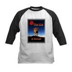 The King is coming! Kids Baseball Jersey