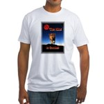 The King is coming! Fitted T-Shirt