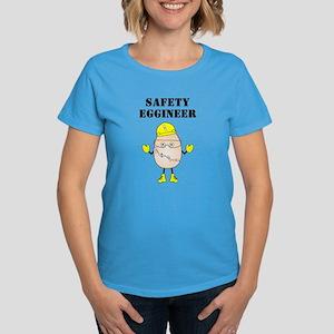 Safety Eggineer Women's Dark T-Shirt