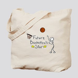 Future Basketball Star Tote Bag