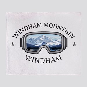 Windham Mountain - Windham - New Y Throw Blanket