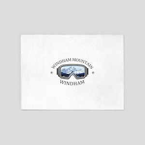 Windham Mountain - Windham - New 5'x7'Area Rug