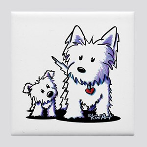 Muggles & Mom Tile Coaster