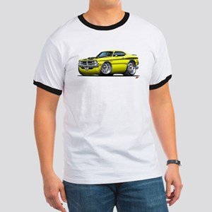 Dodge Demon Yellow Car Ringer T