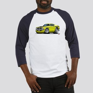 Dodge Demon Yellow Car Baseball Jersey