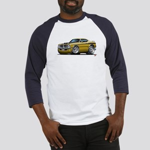 Dodge Demon Gold Car Baseball Jersey