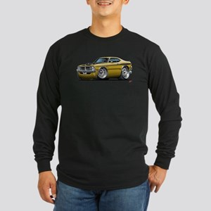 Dodge Demon Gold Car Long Sleeve Dark T-Shirt