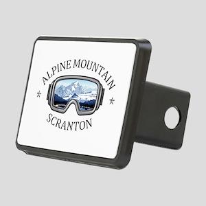 Alpine Mountain Ski & Ride Rectangular Hitch Cover