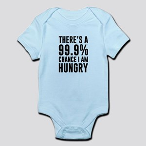 99.9 Chance I'm Hungry Body Suit