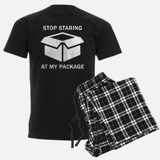 Stop Staring At My Package Pajamas