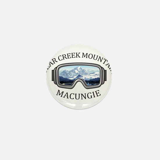 Bear Creek Mountain Resort - Macungi Mini Button