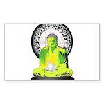 Buddah Rectangle Sticker