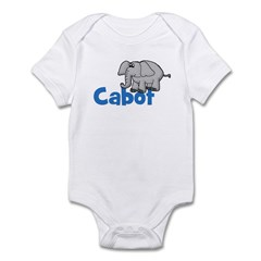 Elephant - Cabot Infant Creeper
