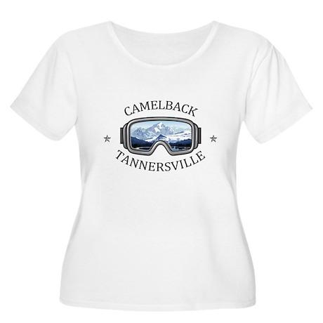 Camelback Ski Area - Tannersvi Plus Size T-Shirt
