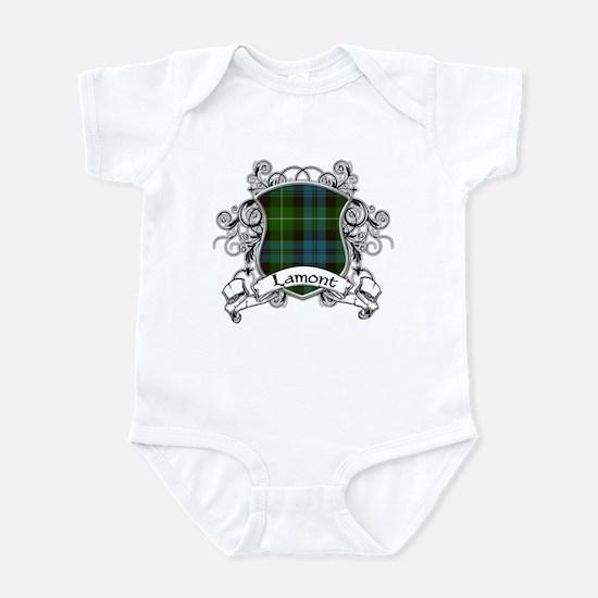 Lamont Tartan Shield Infant Bodysuit