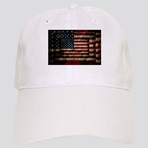 American Leather Flag Cap