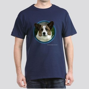Cardigan Welsh Corgi Art Dark T-Shirt
