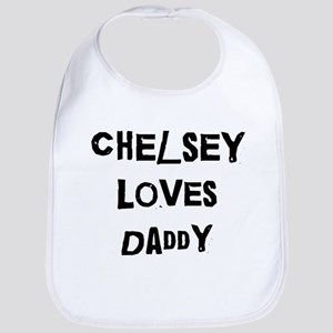 Chelsey loves daddy Bib