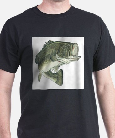 Large Mouth Bass (Front only) T-Shirt