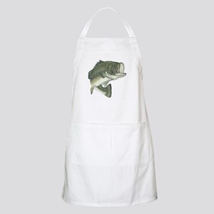 Large Mouth Bass BBQ Apron